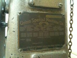 Union Special Machine