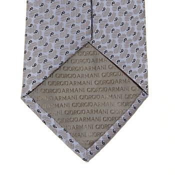 Giorgio Armani Tie sky/silver silk tie 219W376 - GAM1258