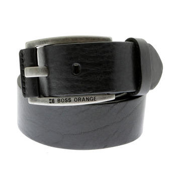 Belt Hugo Boss Orange label BAKABA black leather belt 50188119 - BOSS0440