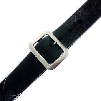 Sugar Cane Mens F01406 Black Leather Vintage Finish Casual Belt CANE1141
