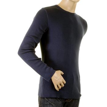 Armani Jeans Z6W33Q4 navy blue knitwear jumper top AJM0768