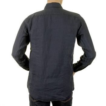 Armani mens navy shirt H6192N 17789 GAM3513