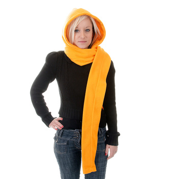 RMC Martin Ksohoh Yellow Hooded Snood Scarf REDM0374