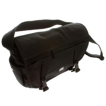 RMC Martin Ksohoh MKWS Unisex 100% Cotton Canvas Large Shoulder Bag in Black REDM5579