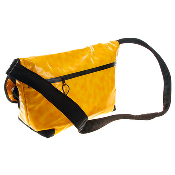 RMC MKWS Large Unisex Amber Canvas Fashion Shoulder Cyclist Bag with PVC Coating REDM5554