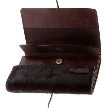RMC Wallet Martin Ksohoh MKWS brown horse hair travel wallet256367 BGH0N 1000 REDM5785