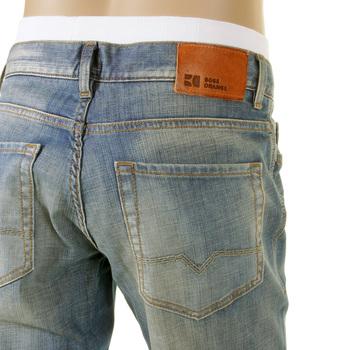 boss orange jeans hb31 450 scraped blue hugo boss denim. Black Bedroom Furniture Sets. Home Design Ideas