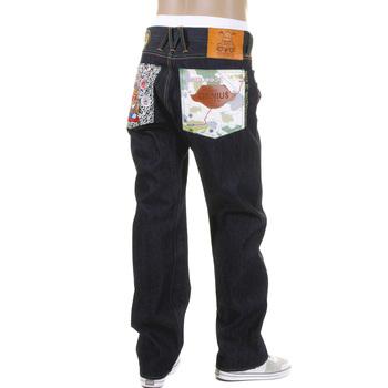 Yoropiko Signature Martin Yat Ming Greedy Genius Selvedge Denim Jeans YORO5816