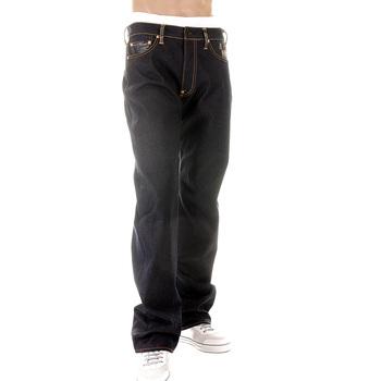 RMC Martin Ksohoh Super Exclusive Crane Embroidered Indigo Raw Selvedge Vintage Cut Denim Jeans for Men REDM2889