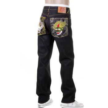 RMC Huuzinn and Raizinn Slimmer Cut 1001 Model Super Exclusive Dark Indigo House Selvedge Denim Jeans REDM2699