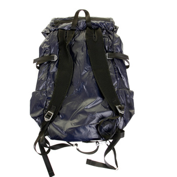 RMC MKWS Unisex Navy Lightweight 100% Nylon Backpack with Adjustable Back and Side Straps REDM2130