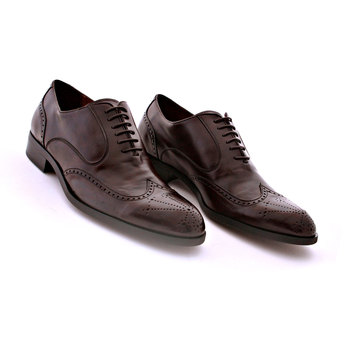 NOHARM Vegan new Pheonix G2346 Brown Brogue shoe NOHR0840