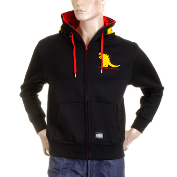 RMC Sweatshirt MKWS black godzilla hooded top REDM2324