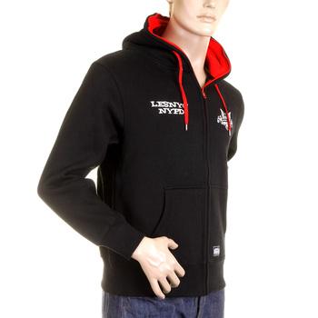RMC MKWS Mens Kelly Green NYPD USA Eagle Printed Hooded Zip Up Regular Fit Sweatshirt REDM2334