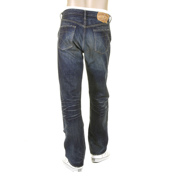 Sugar Cane Mens SC40065H Vintage Cut Union Star Dark Hard Wash Japanese Selvedge Denim Jeans CANE9028