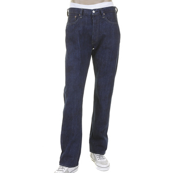 Sugar Cane Mens Vintage Cut SC40401A Double Ring-Spun Hawaiian Cotton  One Wash Denim Jeans in Navy CANE2029