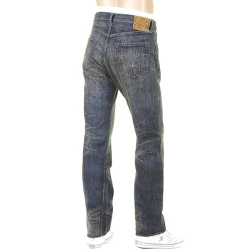 Sugar Cane Hawaiian SC40401H Cotton Vintage Cut Japanese Selvedge Denim Jeans for Men CANE4071