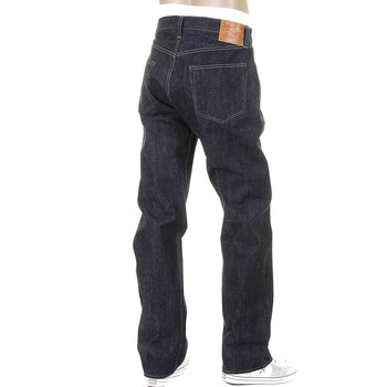 Sugar Cane Mens Japanese Non Wash Vintage Cut SC41947N Selvedge Jeans Made from Double Ring Cotton CANE3195