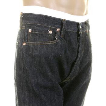 Sugarcane Mens SC41966A Vintage Cut One Wash Japanese Selvedge Denim Jeans CANE2826