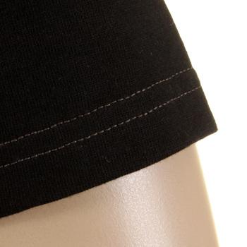Whitesville Mens WV73544 Regular Fit 100% Cotton Crew Neck Short Sleeve T-Shirt In Black CANE2828
