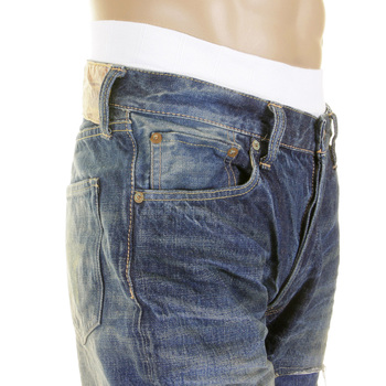 Sugarcane Lone Star SC40902R Japanese Selvedge Denim Vintage Cut Jeans for Men CANE2106