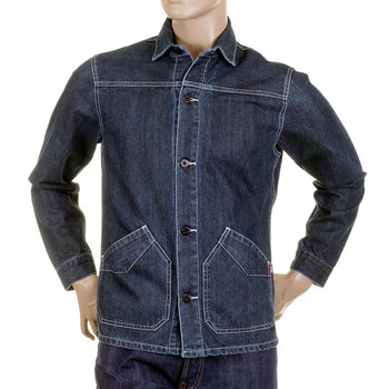 RMC Martin Ksohoh MKWS denim worker jacket shirt REDM2558