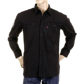 RMC Martin Ksohoh MKWS black soft collar shirt REDM2364