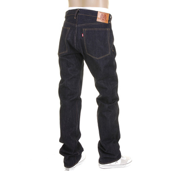 RMC JEANS Indigo Slimmer Cut Kurabo Model 1011 ORJ Cotton Super Exclusive Raw Denim Jeans REDM1142