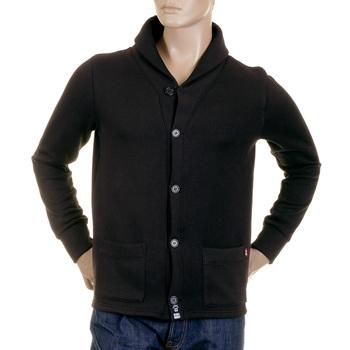 RMC Martin Ksohoh MKWS Shawl Collared Regular Fit Button up Mens Heavy Gauge Jacket in Black REDM2349