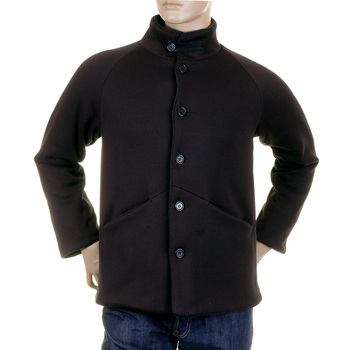 RMC Martin Ksohoh MKWS Mens Regular Fit Fleece Lined Button up Black Jacket REDM2347