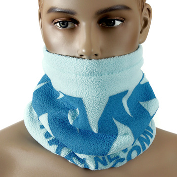 RMC Head Warmer Martin Ksohoh MKWS reversable sky blue neck warmer snood 5515N01D5 REDM5493a