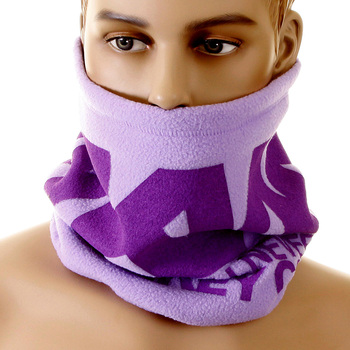 RMC Martin Ksohoh MKWS Light Purple Lilac Reversible Fleece Neck Warmer Snood REDM5509A