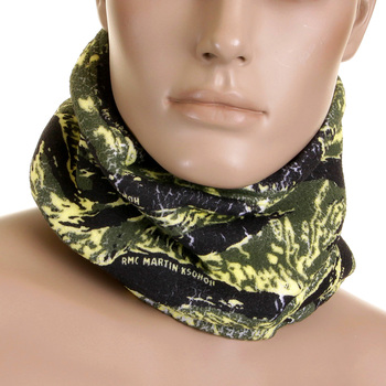 RMC MKWS Head Warmer Snood Martin Ksohoh Tiger Camo Neck Warmer Snood REDM0605a