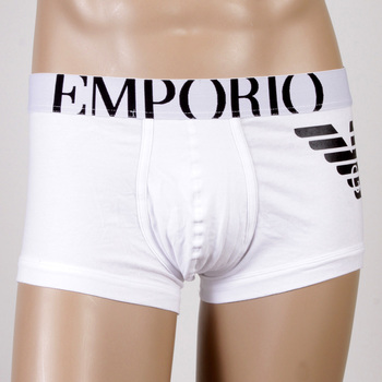 Under wear Emporio Armani boxers white trunk 111866 CC725 EAM2396