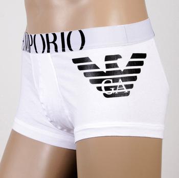 Under wear Emporio Armani boxers white trunk 111866 CC725 EAM2396