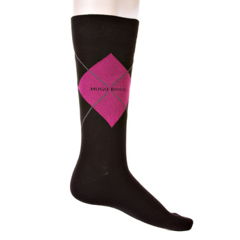 Hugo Boss Argyle black socks 50204546 BOSS2527
