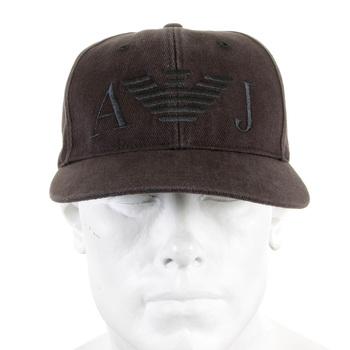 Armani Jeans navy baseball cap 06481 XE AJM2267