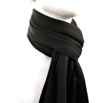 Hugo Boss Scarf black Albas wool scarf BOSS2513