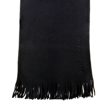 Hugo Boss Scarf black Albas wool scarf BOSS2513