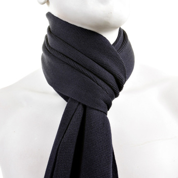 Hugo Boss Scarf navy Albas wool scarf BOSS2514