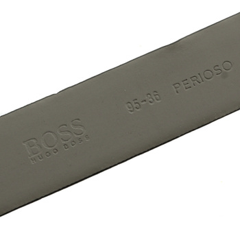 Boss Black Belt Perioso 50196268 black leather Hugo Boss belt BOSS2502