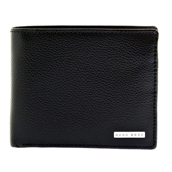 Hugo Boss Wallet Gasparre leather wallet credit card and ID holder boxed gift set 50205598 BOSS2505