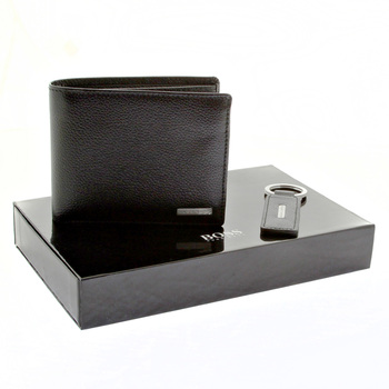Hugo Boss Wallet Gabrielito boxed wallet and key holder gift set 50205600 BOSS2503