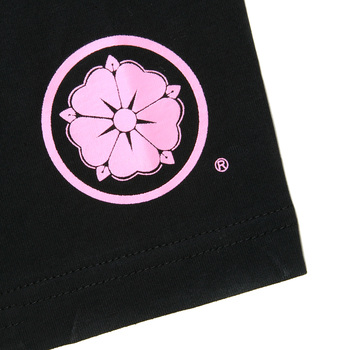 RMC Jeans x Yoropiko Limited Edition Collectors Item Black Crew Neck Regular Fit Pink Seleven T Shirt YORO3778