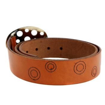 Paul Smith belt Mens tan leather belt PS7688