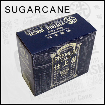 Sugar Cane WASHING DETERGENT vintage wash and Premium care enzyme detergent for Denim 10 sachets CANE1093