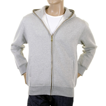 RMC Jeans Regular Fit RQZ1075 Hooded Zipped Marl Grey Sweatshirt for Men with My Girl Print REDM0995