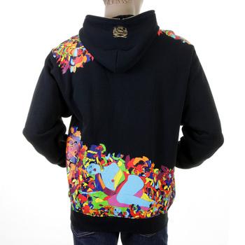 RMC Martin Ksohoh black zipped hoodie sweatshirt jacket REDM0936