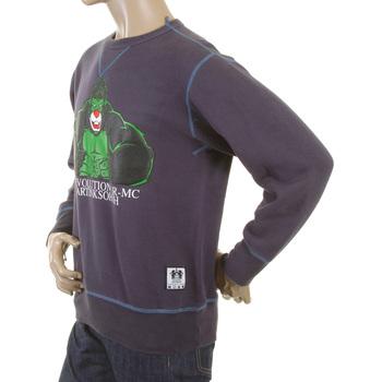 RMC Martin Ksohoh Navy Crew Neck Large Fitting RWH141262 Sweatshirt with King Kong RMC Evolution Print REDM0919