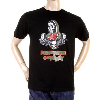 RMC Martin Ksohoh black Skull Maria T-shirt REDM0973
